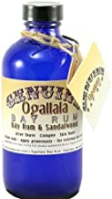 product image for 4 oz Genuine Ogallala Bay Rum & Sandalwood Aftershave Old-time looking bottle and label.