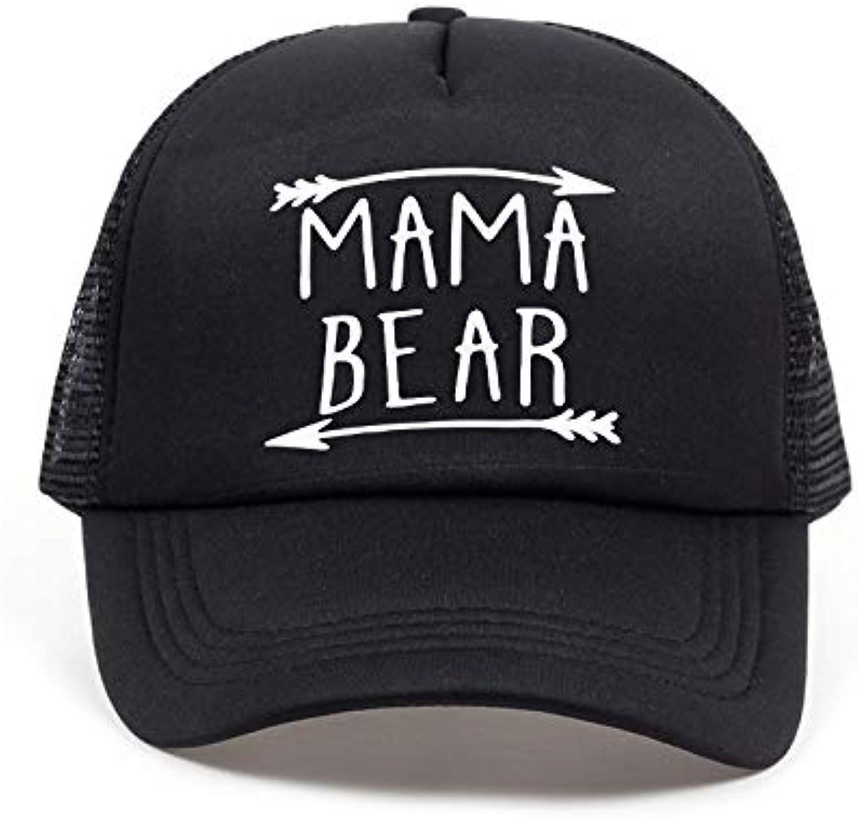 41e96da57 Chlally Letters Print Baseball Trucker Hat for Women Men Unisex Mesh ...