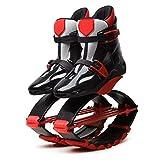 ZHANGZHIYUA Adulto Masculino Femeninosalta Botas para Correr Zapatos De Rebote Antigravedad Zapatos De Salto Rango De Carga De Peso 90-110 Kg,C,XL39~41(90KG)