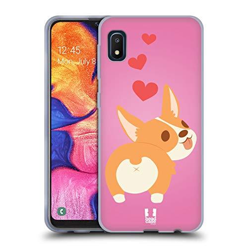 Head Case Designs Fluffy Life of A Corgi Soft Gel Case Compatible with Samsung Galaxy A10e (2019)