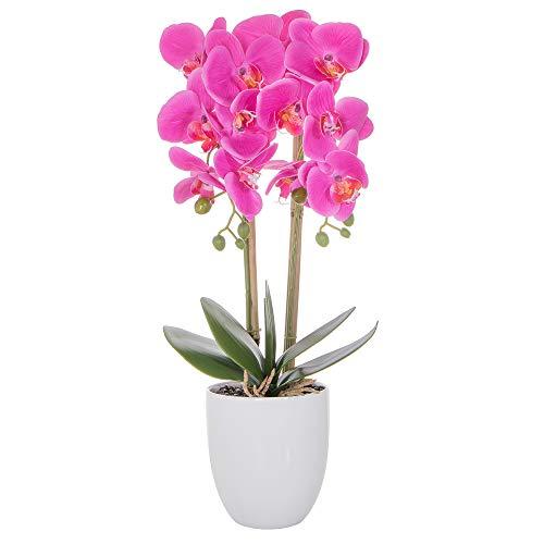 SPRINGOS Künstliche Orchidee Kunstblume...