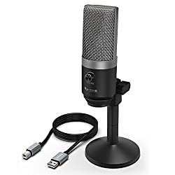 Fifine K670 PC Microphone for Windows and MAC for Recording, Streaming Twitch, Voice Overs, Skype and Podcasting for YouTube,Fifine,K670