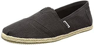 TOMS Black Linen Rope Men's ALPR ESP 10008356 (Size: 10) (B013EUIBXU) | Amazon price tracker / tracking, Amazon price history charts, Amazon price watches, Amazon price drop alerts