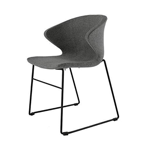 WXFXBKJ Asiento Plegable y portátil Franela, Puede Llevar 250Kg, se Utiliza for Sillas de Comedor, sillas de la recepción del Hotel, hogar del Arte de Hierro sillas de Comedor