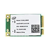 Wifi link 5100 512AN_MMW Wireless PCI-E 300Mbps Wifi 2.4G/5Ghz Mini Card Fit for Dell Asus Acer