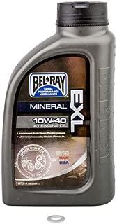 TUSK Transmission Oil Change Kit Bel-Ray EXL 10W-40 - Fits: Yamaha YZ125 2003-2019