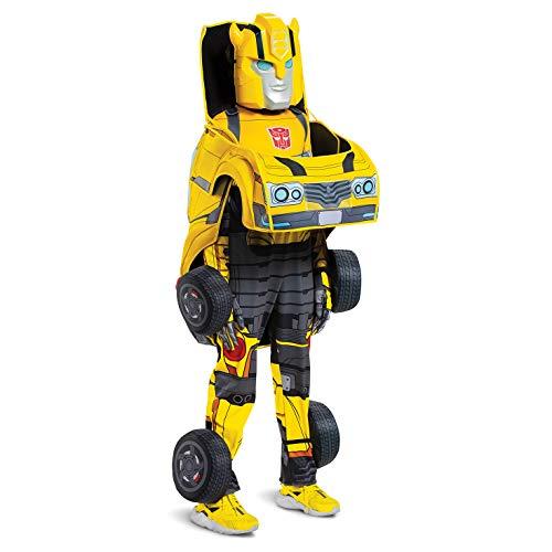 Kinder Transformierbarer Bumblebee Kostüm - Mittel
