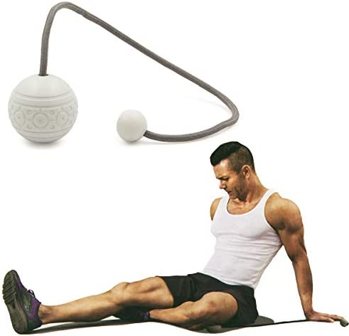 in Motion Massage Ball on String Rope Massage Tool Targeted Pain Relief Massagers for Neck Hard product image