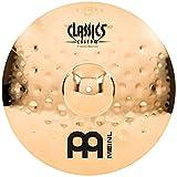 "Meinl 17"" Crash Cymbal - Classics Custom Extreme Metal - Made in Germany, 2-YEAR WARRANTY (CC17EMC-B)"
