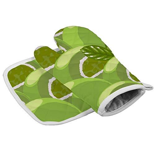 MayBlosom Topflappen, traditionelles japanisches Mochi-Desserts, Matcha, Küchenofenhandschuhe und Topflappen, hitzebeständig, Mikrowellen-Ofenhandschuh für Grillen, Kochen, Backen, Grillen