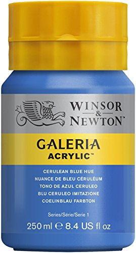 Oferta de Winsor & Newton Galería Pintura Acrílica, Azul (Cerulean Blue Hue), 250 ml, 250