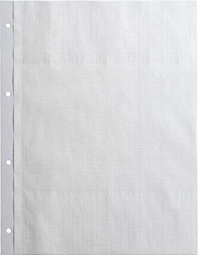 Brunnen 1061610 - Hojas para álbum de fotos (lisas, 23 x 29,7 cm, 10 unidades), color blanco