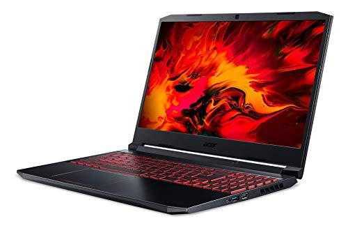 Acer Nitro 5 AMD Ryzen 7 4800H 15.6-inch Full HD IPS Display Thin and Light Gaming Laptop (8GB Ram/1TB HDD + 256GB SSD/Window 10 Home/GTX 1650Ti Graphics/Obsidian Black/ 2.3kgs),AN515-44