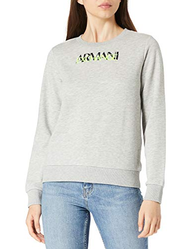 felpa armani donna ARMANI EXCHANGE Logo Sweatshirt Maglia di Tuta