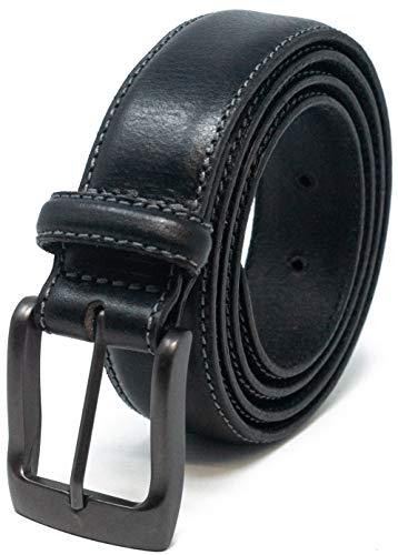 Ashford Ridge 32 mm Cinturon de Traje para hombres Hecho de cuero