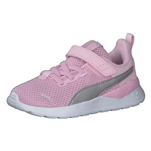 Puma ANZARUN Lite AC Inf, Scarpe da Ginnastica Unisex Baby, Pink Lady Silver, 25 EU