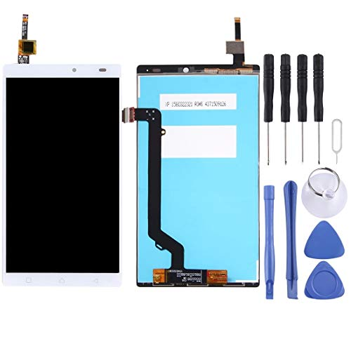 HUAAT -LCD Screen and Digitizer Full Assembly for Lenovo K4 Note / A7010 (Black) DIY (Color : White)