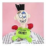 Sdesign Descompresión y ventilación de Escritorio Boxeo Bostezando Punch Muñeca Oficina Toys Tricky Spoof para aliviar el aburrimiento (Color : Green)