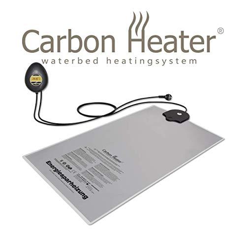 Carbon Heater IQ Carbon digital - 320 Watt - T.B.D intelligente energiespar Wasserbettheizung für Solo-Systeme - ganzheitlich abgeschirmt