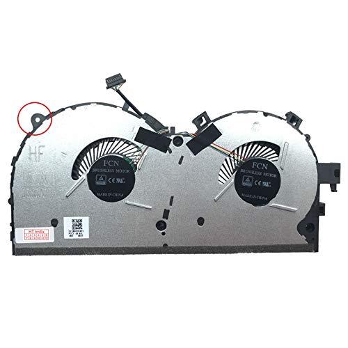 80WK00LHGE - Ventilador compatible con Lenovo Legion Y520-15IKBN (80WK01DXGE), Y520-15IKBN (80WK00LHGE)