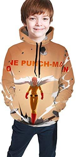 Leila Marcus One Punch Herren Trainings-Pullover, Schwarz Gr. 7-8 Jahre, siehe abbildung