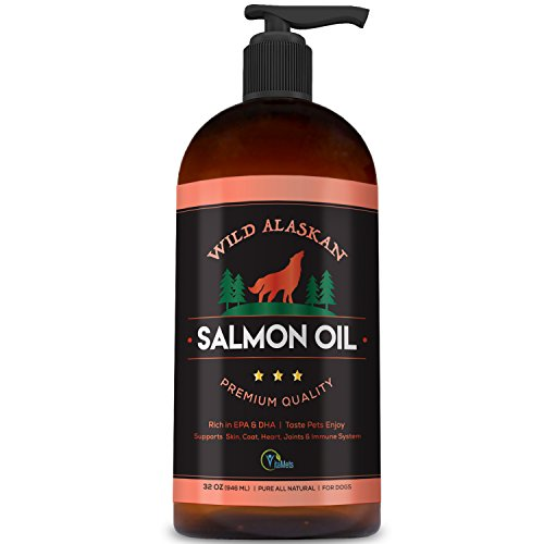 Vitamets Wild Alaskan Salmon Oil for Dogs, Cats and Pets – 100%...