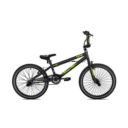MADD Gear BMX Freestyle 20' MGP nero opaco/verde (1 pezzo)