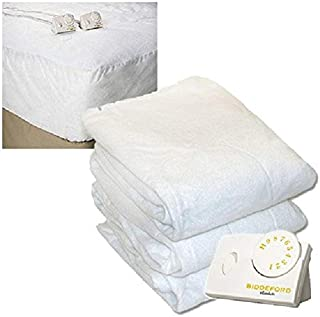 Pure Warmth 5903-9081RM-100 King Size Electric Heated Mattress Pad Natural