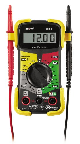 Read About INNOVA 3310 Hands-Free Digital Multimeter (10 MegOhm)