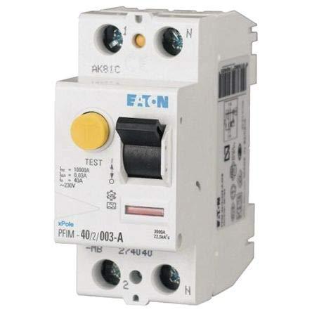 Eaton PFIM-25/2/03-A-MW Interruttore differenziale PFIM, 2P, 25A, 300mA