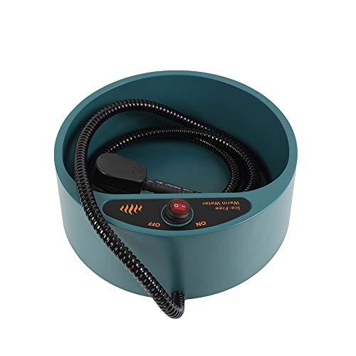 Huisdier Bowl Automatische Constante Temperatuur Isolatie Verwarming Water Bowl Wear-Resistant Niet gemakkelijk te Schade Geschikt voor Kleine, Medium en Grote Huisdieren