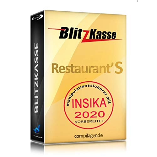 Win – Caja registradora Software Flash kasse restaurante