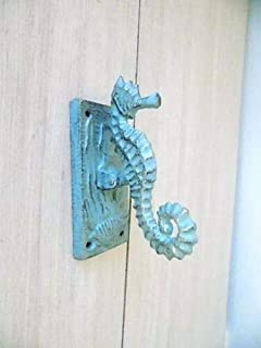 Cast Iron Nautical Seahorse Door Knocker