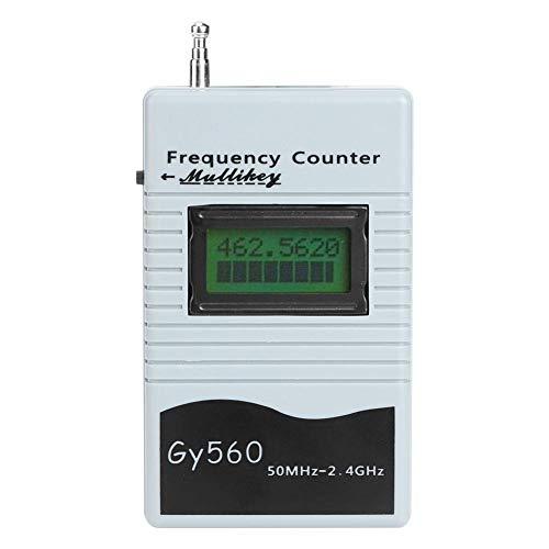 Elerose 無線周波数カウンター、GY560 50Mhzから2.4Ghzポータブル周波数カウンター双方向無線周波数測定ツール