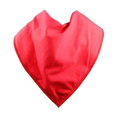 Adult Bandana Bib/Clothing Protector - Size 3 (POPPY) by BibblePlus Dignity Bibs