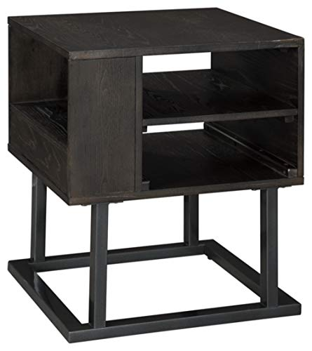 Signature Design by Ashley - Airdon End Table, Gray