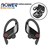 UROPA HERO Auricolari Bluetooth 5.0, Cuffie Bluetooth Auricolari Wireless Stereo Senza Fili Sportivi in Ear con Custodia da Ricarica Microfono per iPhone iPad Samsung Huawei