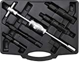 Kraftmann 8598   Jeu d'extracteurs de roulements intérieurs avec masse à inertie   5pièces