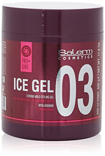 Salerm Cosmetics Ice Strong Hold Styling Gel Fijador - 500 ml