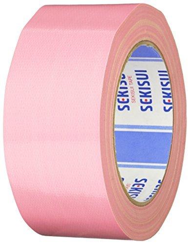 積水化学 カラー布テープ廉価版NO.600V 桃 600Vカラー 50X25 ピンク 00067788 【まとめ買い5個セット】