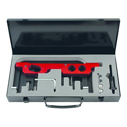 KS Tools 400.3250 Jeu d'outils de réglage moteur pour BMW, 13 pcs, Rouge/Noir