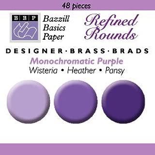 Scrapbooking and Craft Embellishment Crazy Coil Brads Orchid Karen Foster Design