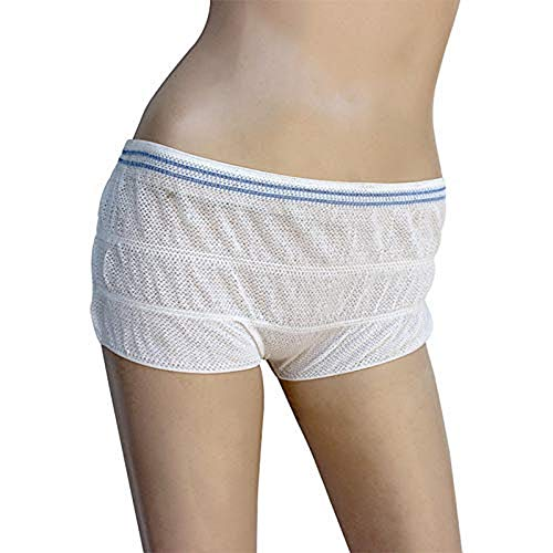 LACKINGONE 5 piezas desechables pantalones posparto ropa