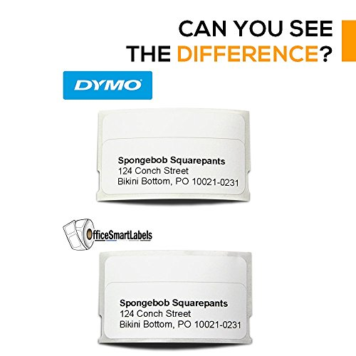 """OfficeSmartLabels - Removable Adhesive - 3/4"""" x 2"""" Multipurpose/Return Blank Address Labels, Compatible with Dymo 30330 for Dymo LabelWriters (12 Rolls - 500 Labels Per Roll) Photo #2"""