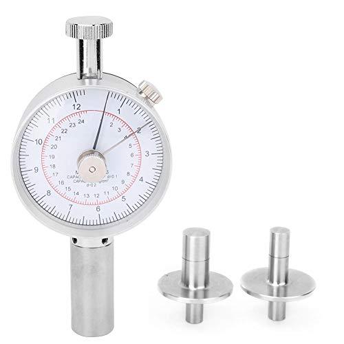Probador de firmeza de frutas, Penetrómetro de frutas GY-03 con 2 cabezales de medición para inspeccionar la dureza de las frutas como manzanas, peras, fresas