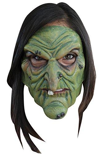 Generique - Masque sorcière maléfique adulte Halloween