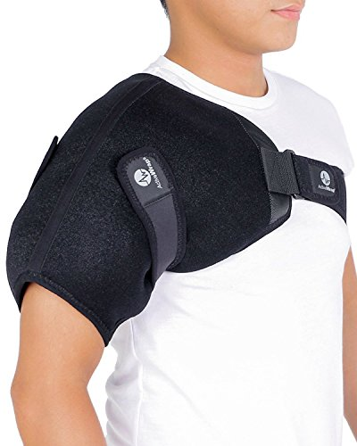 ActiveWrap Shoulder Ice Pack Wrap with Reusable Hot & Cold Packs - Rotator Cuff Ice Therapy -...