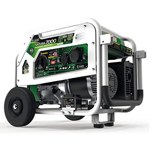 Stromerzeuger Gas Pro Natura 7000 Hybrid Dual Fuel Stromgenerator, Gas und Benzin Stromerzeuger - 7000W 230V E-Start Elektrostart Stromerzeuger Gas Generator, Stromerzeuger gasbetrieb