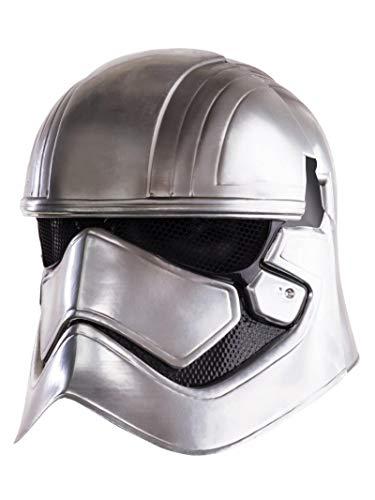 Star Wars 7 Captain Phasma Maske Erwachsene Kostüm Zubehör silber