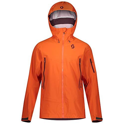 Scott M Explorair DRX 3L Jacket Orange, Herren Dermizax™ Jacke, Größe S - Farbe Orange Pumpkin